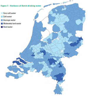 Hard water in NL