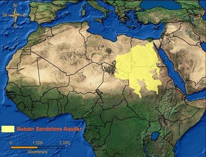 Nubian Aquifer Sandstone System