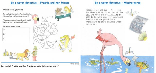 Frankie the Flamingo worksheets