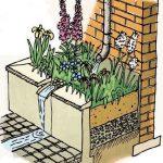 #pooonyourhead - Rain garden