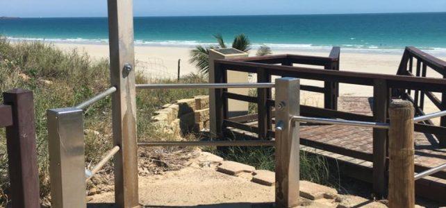 May 2020 – beach showers