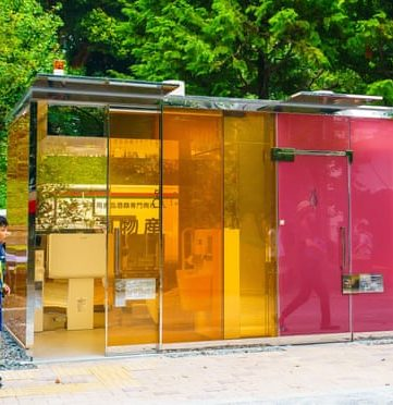 See through loos – Japan – ech2o newsletter snippet